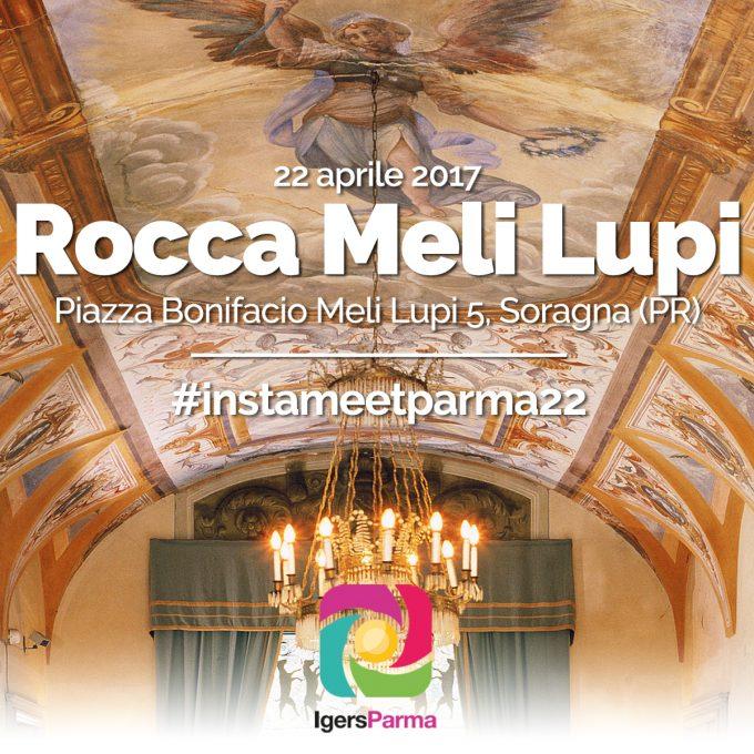 #instameetparma22: Igers Parma alla Rocca Meli Lupi di Soragna