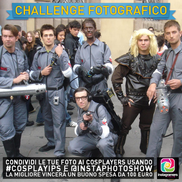 Lucca Comics and Games 2013: un nuovo challenge solo per cosplayer!
