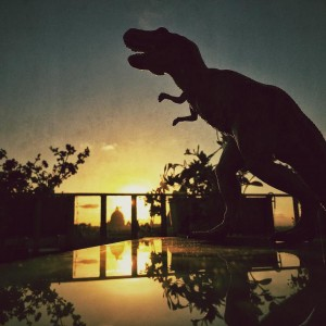 T-Rex a Roma by @osnuflaz (inedito)