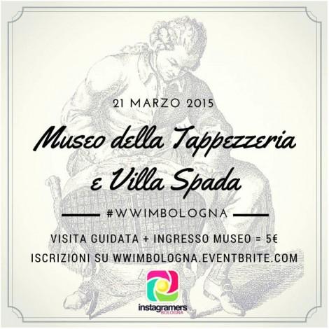 WWIM11 Bologna: Museo della Tappezzeria e Villa Spada