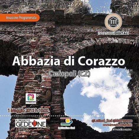 Gli Instagramers calabresi invadono l'abbazia di S. Maria di Corazzo
