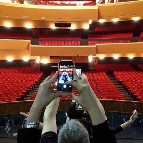 Per la prima volta in Italia un #empty durante l'allestimento di un'opera lirica