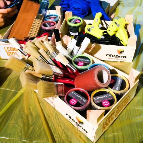 Rilegno: un laboratorio social per il riuso creativo del legno