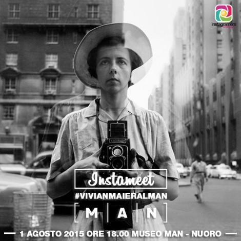 Instagram racconta Vivian Maier. Instameet al Man di Nuoro