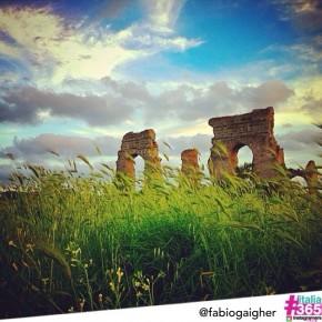 #italia365 @fabiogaigher - Parco degli Acquedotti (Roma)