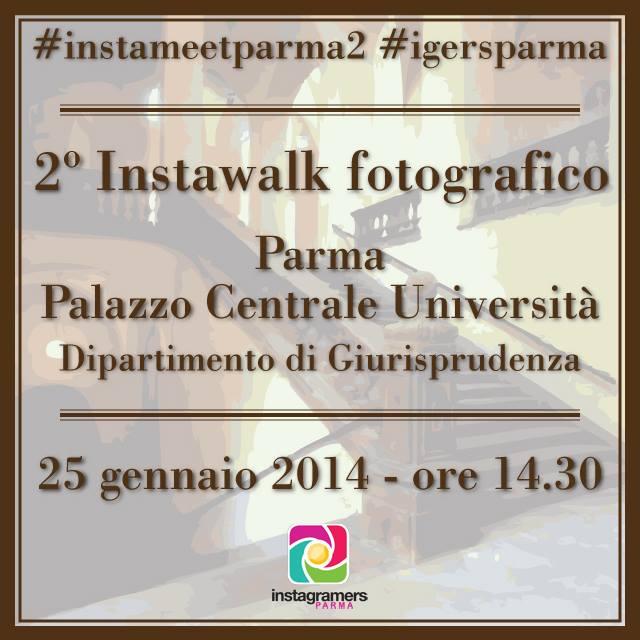 #Instameetparma2: con @IgersParma al Palazzo Centrale dell'Università