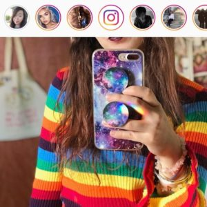 Sticker LGBT - Badge verification - News Instagram Stories - News Direct Instagram