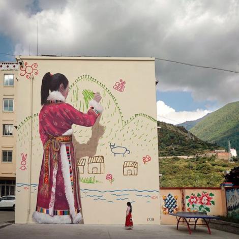 #BackToSchoolChina: la street art colora le scuole della Cina