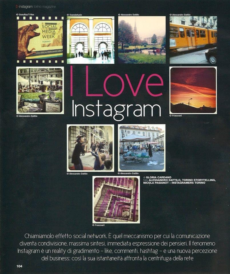 I love Instagram – Torino Magazine intervista Nicola Pasianot aka Tonick