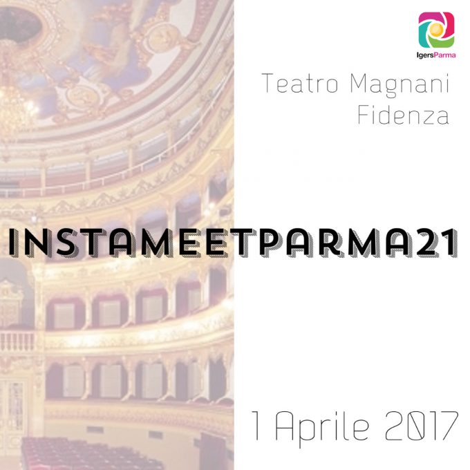 InstameetParma21: #EmptyTeatroEr al Teatro Magnani di Fidenza!