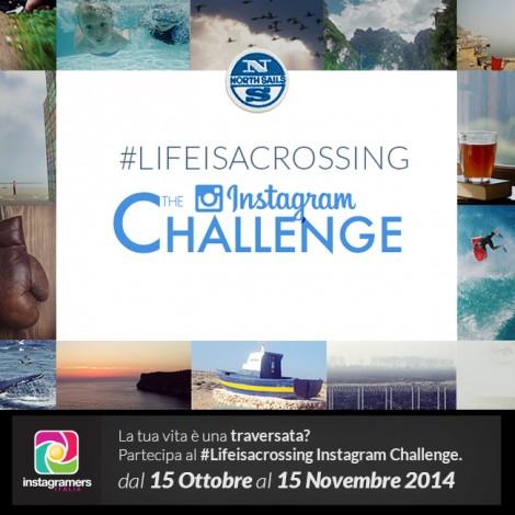 La vita è una traversata: documentala con Instagram