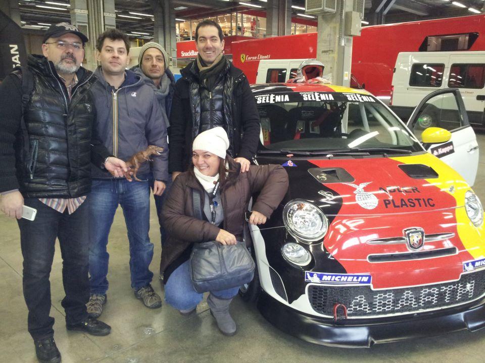 Instagramers al Motor Show 2012 con Abarth!
