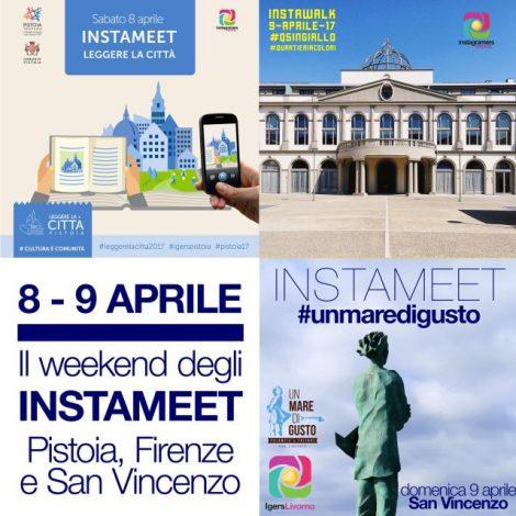 Il weekend degli instameet: Pistoia, Firenze e San Vincenzo