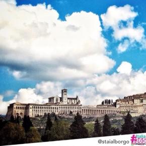 #italia365 @staialborgo - Basilica di San Francesco (Assisi)