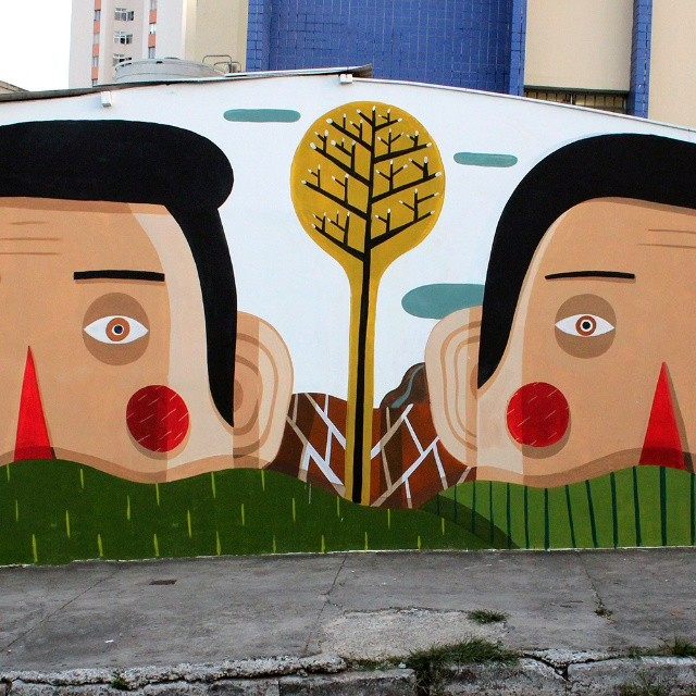 Street art: i giganti buoni di Agostino Iacurci
