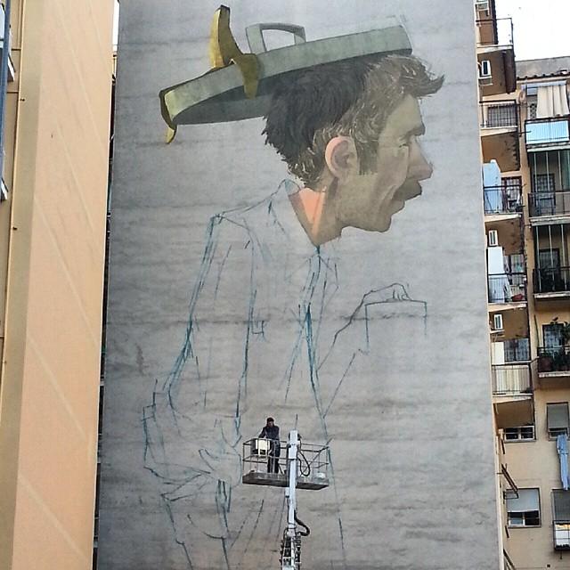 I Piu Bei Murales.Etam Cru Il Piu Alto Murales Di Roma E Live Su