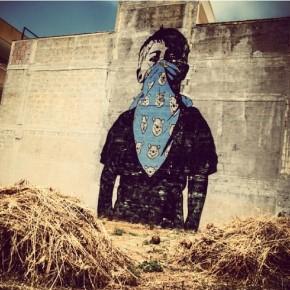 Murale di Dolk realizzato durante il Fame Festival di Grottaglie, foto di @dariobianchi92