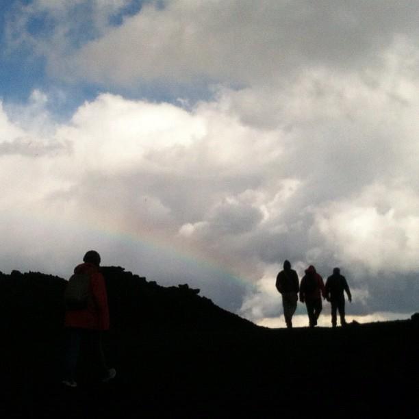 This is Etna: #igerscatania sul vulcano.