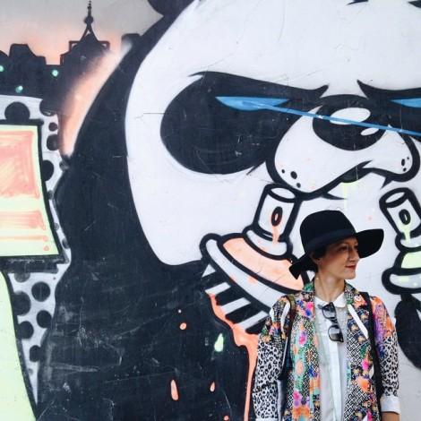"""I """"panda arrabbiati"""" di Leo Lunatic invadono Istanbul"""