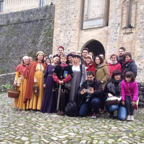 Un successo l'Instameet parmigiano al Castello di Torrechiara