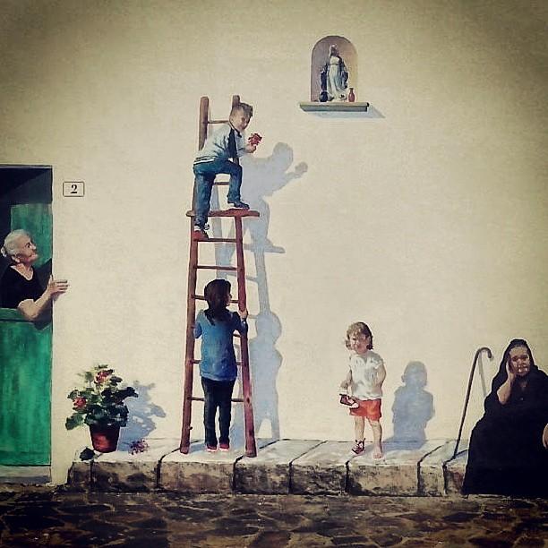 Murale di Palmas, fotografato da @illicina