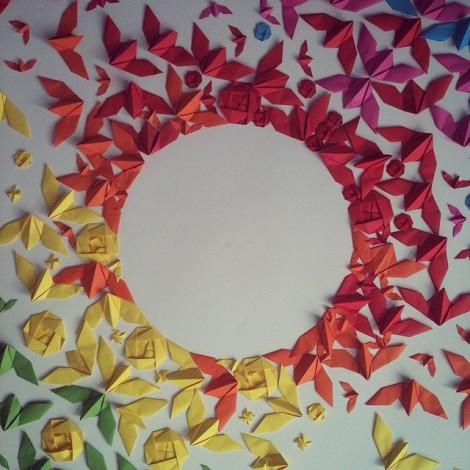 La street art elegante: gli origami di Mademoiselle Maurice su Instagram