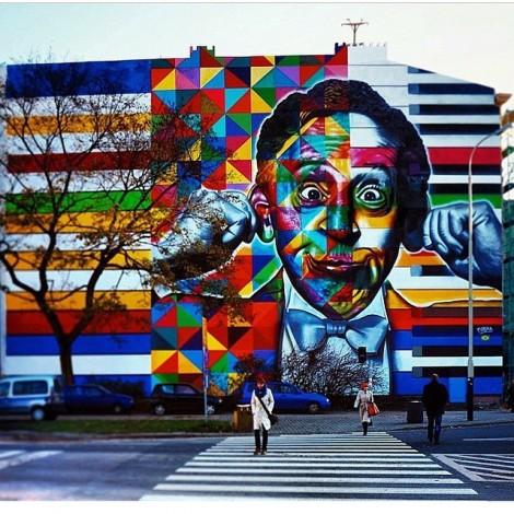 Eduardo Kobra: tra #StreetArt, colore e memoria