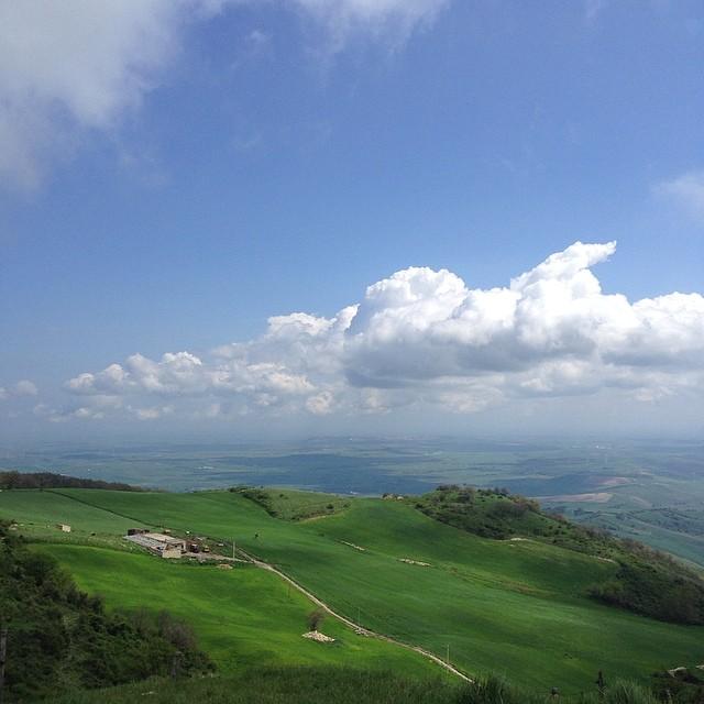 Il panorama dal Monte Cornacchia