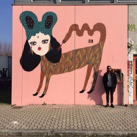 La fille Bertha: street art & fashion