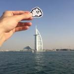A Dubai, dove l'artista vive attualmente, ph. @myneandyours