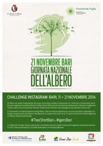 Giornata Nazionale dell'Albero - Challenge con @IgersBari