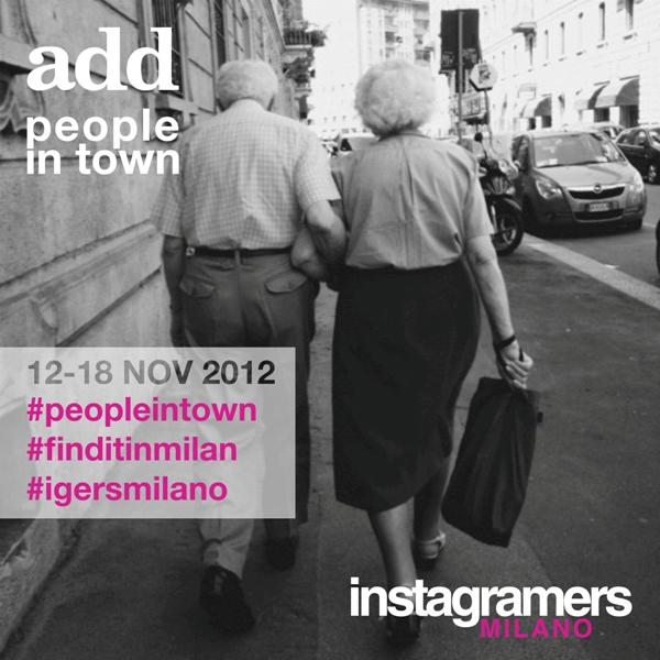 """IgersMilano e ADD per immortalare gente di """"strada"""""""