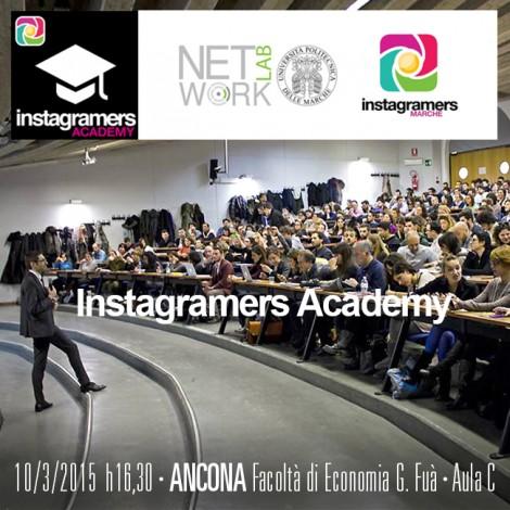 Torna l'Igers Academy all'Università di Ancona