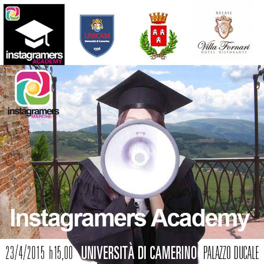 Instagramers Academy all'Università di Camerino