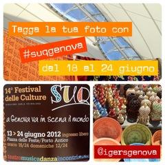 Scatta con Instagram al SUQ di Genova e partecipa al challenge per Instagramers