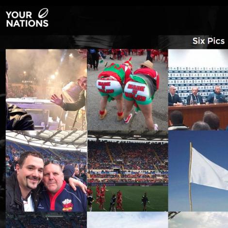 YourNations – Il 6 nazioni Rugby raccontato su Instagram