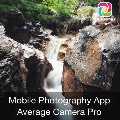 Fotografare l'acqua con Average Camera PRO