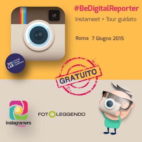 #BeADigitalReporter con Instagramers Roma