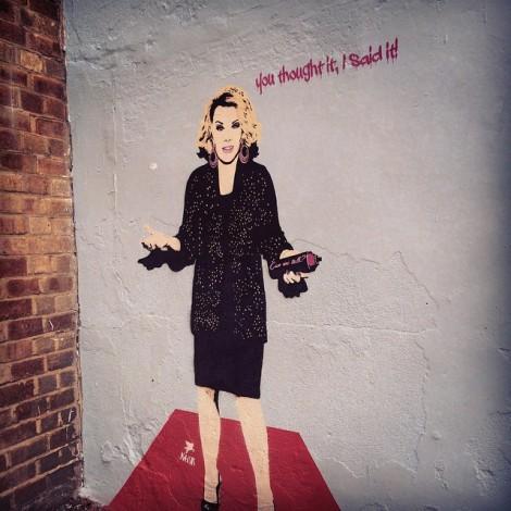 La street art è donna. Parola di Bambi!