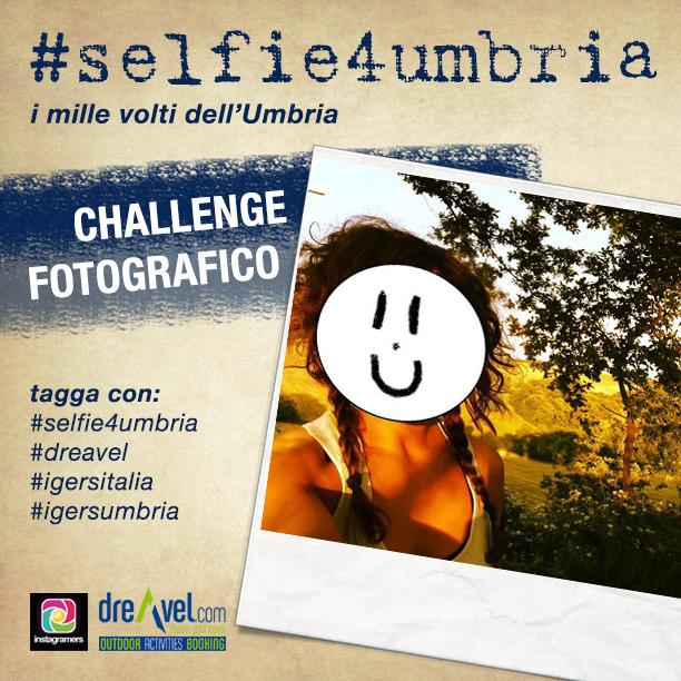 #Selfie4Umbria: territori con i volti dei turisti