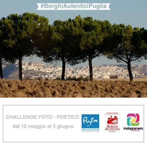 Primo challenge foto-poetico per raccontare i #BorghiAutenticiPuglia