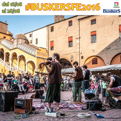 Ferrara Buskers Festival con Instagramers Ferrara