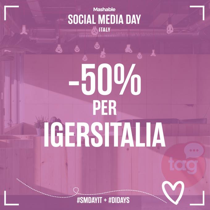 Igersitalia media partner di Mashable Social Media Day 2017