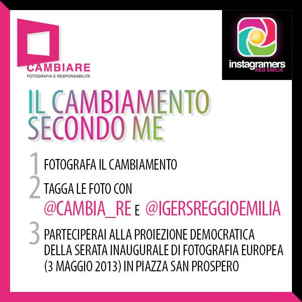 Fotografa il cambiamento a Reggio Emilia per Fotografia Europea