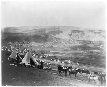 Campo della cavalleria di Balaklava Roger Fenton