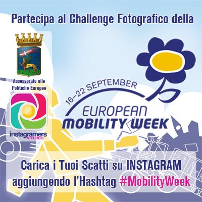 Instagram Challenge #MobilityWeek con IgersViterbo