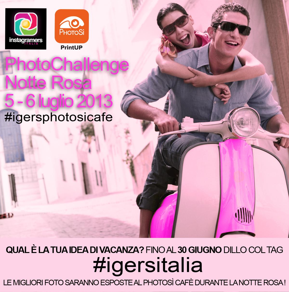 Raccolta fotografica! IgersItalia con PhotosiCafè a Riccione