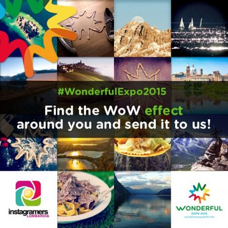 Instagramers e WondefulExpo insieme per il WOW