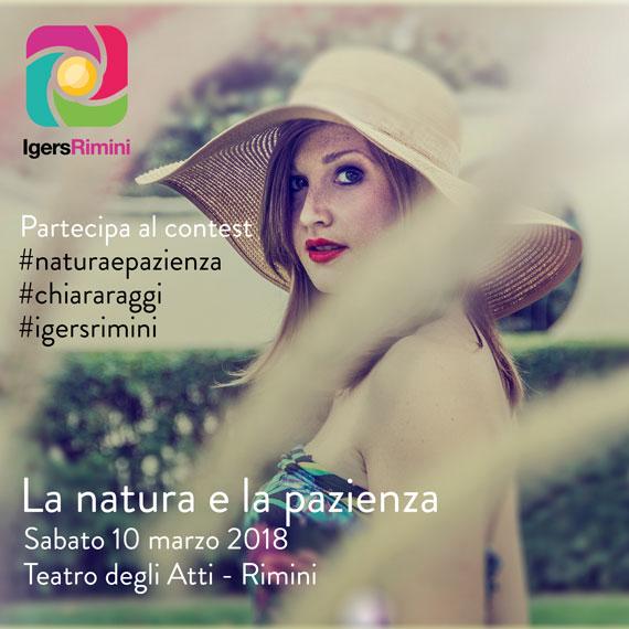 Chiara Raggi - Contest La Natura e la Pazienza - Igers Rimini 2018