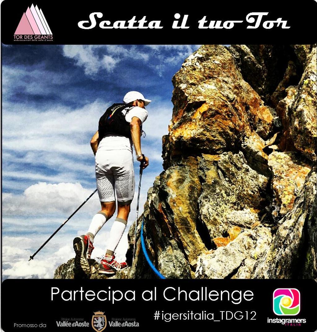 Racconta il Tor Des Geants su Instagram con Instagramers Italia!